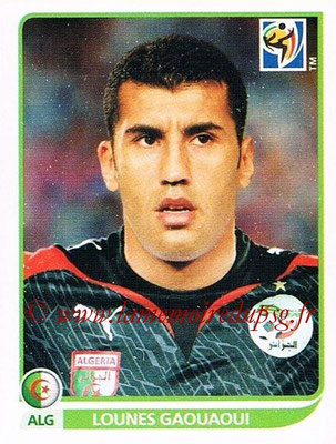 2010 - Panini FIFA World Cup South Africa Stickers - N° 223 - Lounes GAOUAOUI (Algérie)