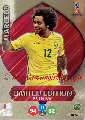 2018 - Panini FIFA World Cup Russia Adrenalyn XL - N° LE-MA - MARCELO (Brésil) (Limited Edition)