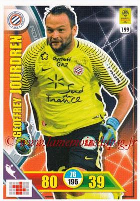 2017-18 - Panini Adrenalyn XL Ligue 1 - N° 199 - Geoffrey JOURDREN (Montpellier)