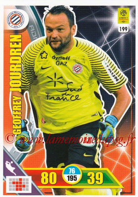 2017-18 - Panini Adrenalyn XL Ligue 1 - N° 199 - Geoffrey JOURDREN (Montpellier)