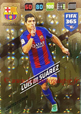 2017-18 - Panini FIFA 365 Cards - N° LE-LS - Luis SUAREZ (FC Barcelone) (Limited Edition)