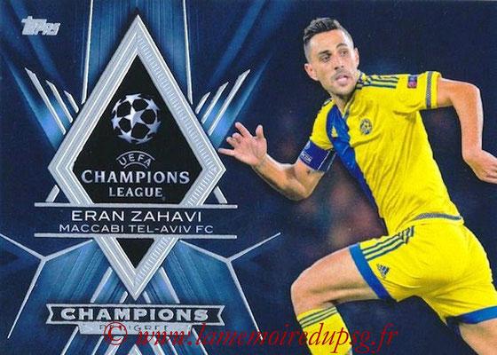 2015-16 - Topps UEFA Champions League Showcase Soccer - N° CP-EZ - Eran ZAHAVI (Maccabi Tel-Aviv FC) (Champions Pedigree)