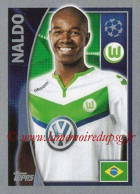 2015-16 - Topps UEFA Champions League Stickers - N° 137 - NALDO (VFL Wolfsburg)