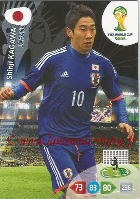 2014 - Panini FIFA World Cup Brazil Adrenalyn XL - N° 233 - Shinji KAGAWA (Japon)