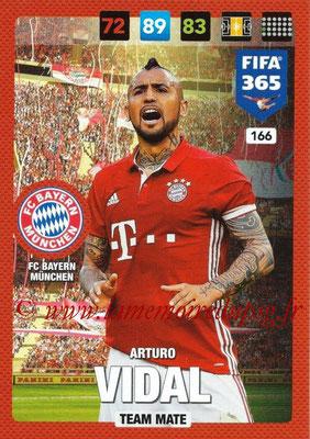 2016-17 - Panini Adrenalyn XL FIFA 365 - N° 166 - Arturo VIDAL (FC Bayern Munich)