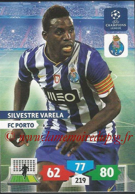 2013-14 - Adrenalyn XL champions League N° 224 - Silvestre VARELA (FC Porto)