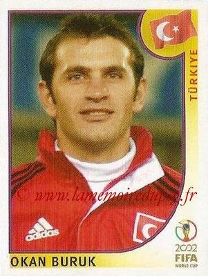 2002 - Panini FIFA World Cup Stickers - N° 197 - Okan BURUK (Turquie)