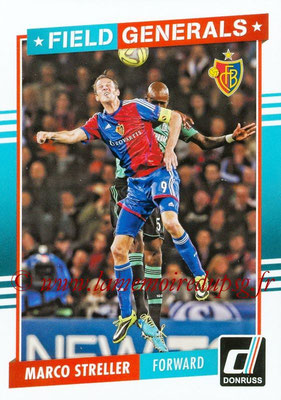 2015 - Panini Donruss Soccer - N° FG09 - Marco STRELLER (FC Bale) (Field Generals)