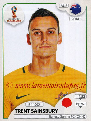 2018 - Panini FIFA World Cup Russia Stickers - N° 219 - Trent SAINSBURY (Australie)