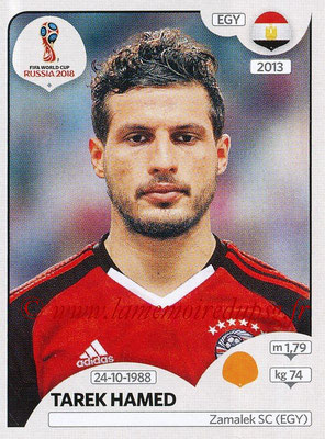 2018 - Panini FIFA World Cup Russia Stickers - N° 083 - Tarek HAMED (Egypte)