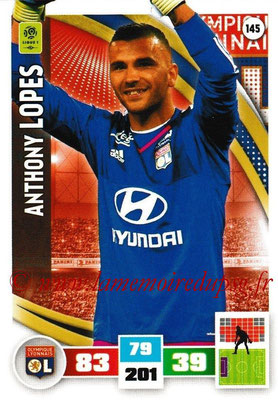 2016-17 - Panini Adrenalyn XL Ligue 1 - N° 145 - Anthony LOPES (Lyon)