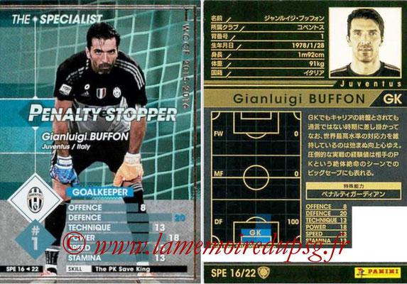 2015-16 - Panini WCCF - N° SPE16 - Gianluigi BUFFON (Juventus FC) (The Specialist)