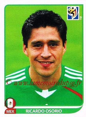 2010 - Panini FIFA World Cup South Africa Stickers - N° 053 - Ricardo OSORIO (Méxique)