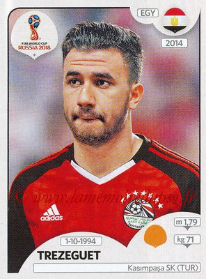 2018 - Panini FIFA World Cup Russia Stickers - N° 086 - TREZEGUET (Egypte)