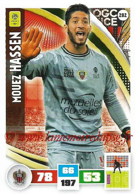 2016-17 - Panini Adrenalyn XL Ligue 1 - N° 282 - Mouez HASSENI (Nice)