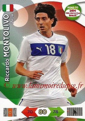 2014 - Panini Road to FIFA World Cup Brazil Adrenalyn XL - N° 124 - Riccardo MONTOLIVO (Italie)