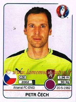 Panini Euro 2016 Stickers - N° 385 - Petr CECH (République Tchèque)