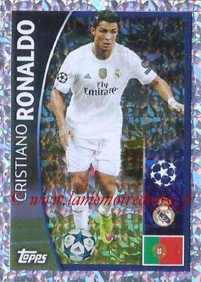 2015-16 - Topps UEFA Champions League Stickers - N° 010 - Cristiano RONALDO (Real Madrid CF)