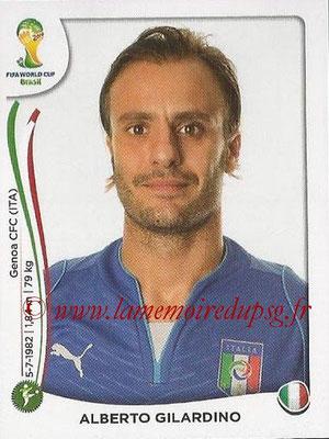 2014 - Panini FIFA World Cup Brazil Stickers - N° 333 - Alberto GILARDINO (Italie)