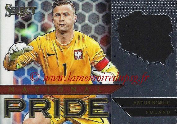 2015 - Panini Select Soccer - N° NP28 - Artur BORUC (Pologne) (National Pride)