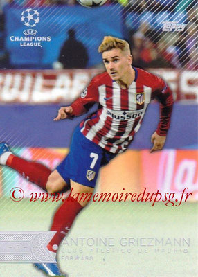 2015-16 - Topps UEFA Champions League Showcase Soccer - N° 066 - Antoine GRIEZMANN (Club Atletico de Madrid)