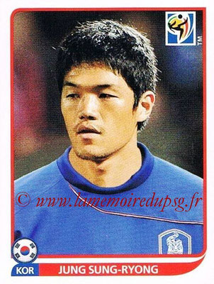 2010 - Panini FIFA World Cup South Africa Stickers - N° 147 - Jung SUNG-RYONG (Corée du Sud)
