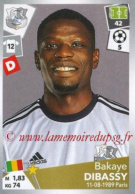 2017-18 - Panini Ligue 1 Stickers - N° 005 - Bakaye DIBASSY (Amiens)