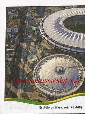 2014 - Panini FIFA World Cup Brazil Stickers - N° 026 - Estadio do Maracana - Rio de Janeiro (1)