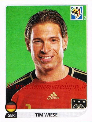 2010 - Panini FIFA World Cup South Africa Stickers - N° 261 - Tim WIESE (Allemagne)