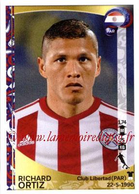Panini Copa America Centenario USA 2016 Stickers - N° 103 - Richard ORTIZ (Paraguay)