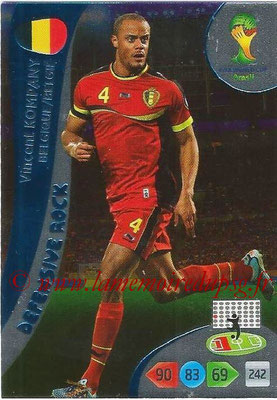 2014 - Panini FIFA World Cup Brazil Adrenalyn XL - N° 362 - Vincent KOMPANY (Belgique) (Defensive Rock)