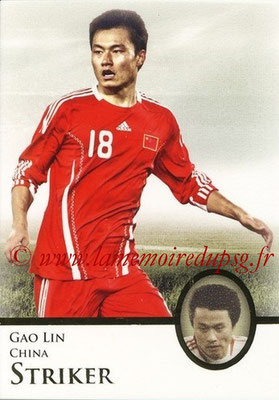 2013 - Futera World Football Unique - N° 085 - Gao LIN (Chine) (Striker)