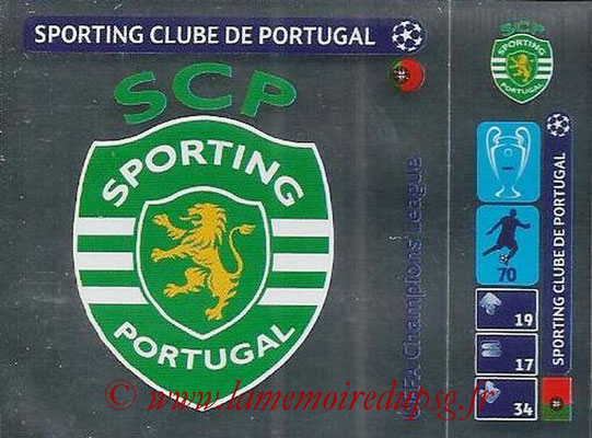2014-15 - Panini Champions League N° 031 - Logo Sporting Club de Portugal