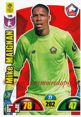 2018-19 - Panini Adrenalyn XL Ligue 1 - N° 109 - Mike MAIGNAN (Lille)