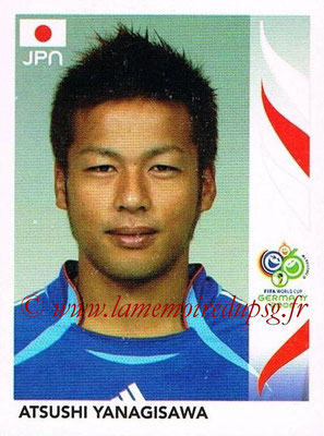 2006 - Panini FIFA World Cup Germany Stickers - N° 453 - Atsushi YANAGISAWA (Japon)