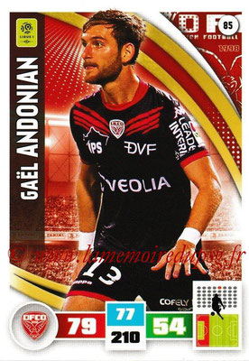 2016-17 - Panini Adrenalyn XL Ligue 1 - N° 085 - Gaêl ANDONIAN (Dijon)