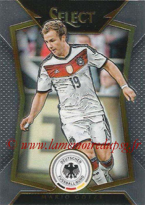 2015 - Panini Select Soccer - N° 037 - Mario GOTZE (Allemagne)