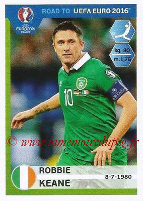 Panini Road to Euro 2016 Stickers - N° 159 - Robbie KEANE (Eire)