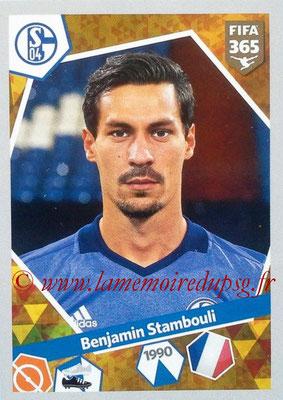 N° E15 - Benjamin STAMBOULI (2015-16, PSG > 2017-18, Schalke 04, ALL)