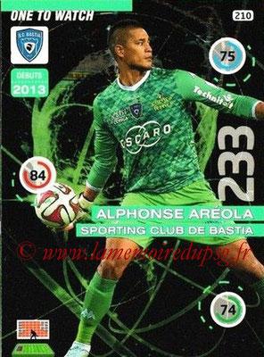 N° 210 - Alphonse AREOLA (2012-??, PSG > 2015-16, Prêt à Bastia puis à Villareal, ESP) (One to Watch)