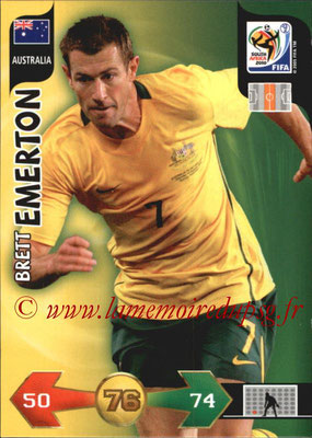 2010 - Panini FIFA World Cup South Africa Adrenalyn XL - N° 029 - Brett EMERTON (Autralie)