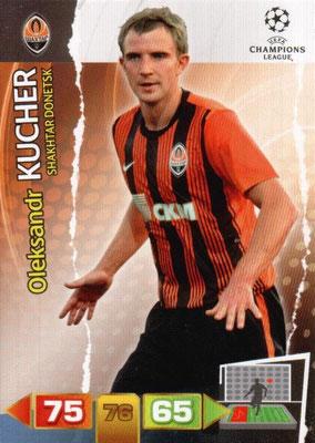 2011-12 - Panini Champions League Cards - N° 239 - Oleksandr KUCHER (Shakhtar Donetsk)