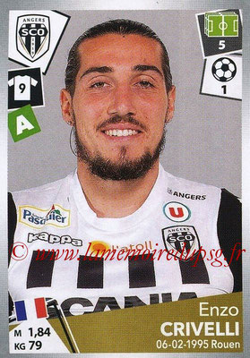 2017-18 - Panini Ligue 1 Stickers - N° 040 - Enzo CRIVELLI (Angers)