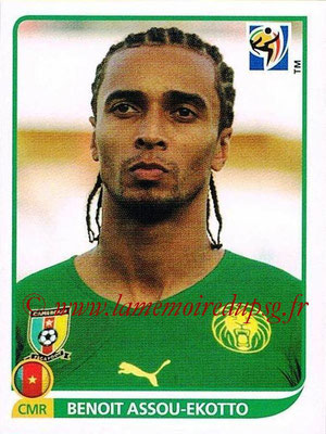 2010 - Panini FIFA World Cup South Africa Stickers - N° 398 - Benoit ASSOU-EKOTTO (Cameroun)