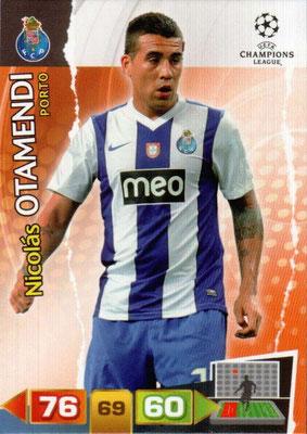2011-12 - Panini Champions League Cards - N° 214 - Nicolas OTAMENDI (FC Porto)