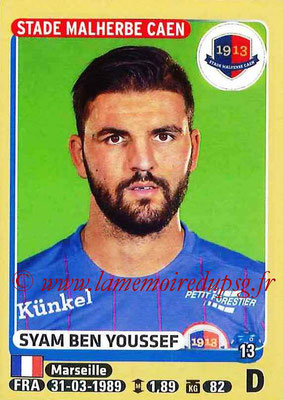 2015-16 - Panini Ligue 1 Stickers - N° 105 - Syam BEN YOUSSEF (SM Caen)