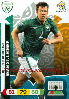 Panini Euro 2012 Cards Adrenalyn XL - N° 180 - Sean ST.LEDGER (Eire)