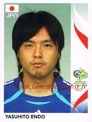 2006 - Panini FIFA World Cup Germany Stickers - N° 443 - Yasuhito ENDO (Japon)