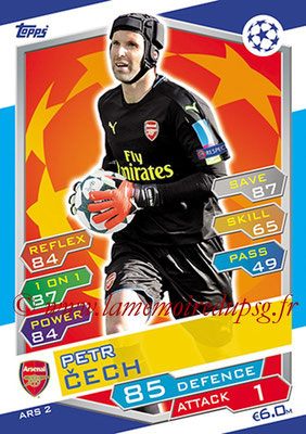 2016-17 - Topps UEFA Champions League Match Attax - N° ARS2 - Petr CECH (Arsenal FC)