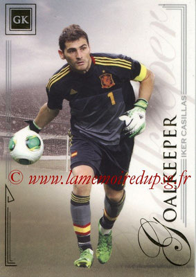 2014 - Futera World Football Unique - N° 002 - Iker CASILLAS (Goalkeeper)